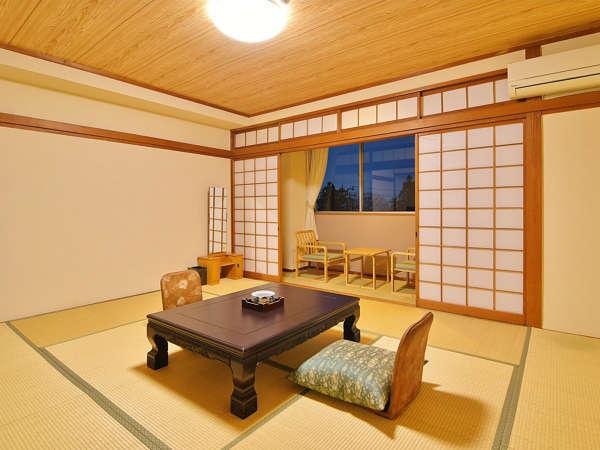 和室10畳[禁煙](バス・トイレ付)のお部屋の一例です