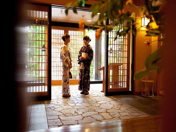 ◆当館玄関◆