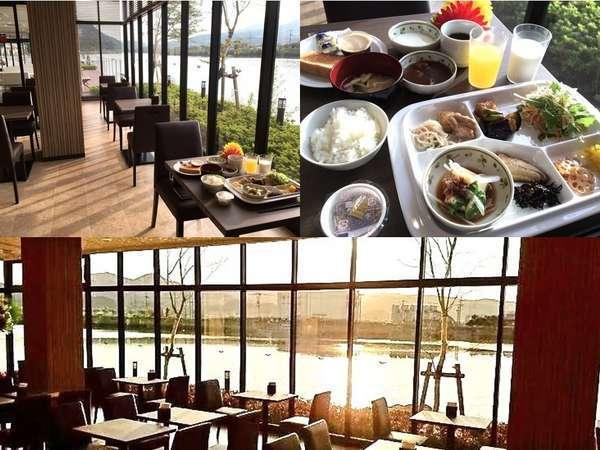 ご朝食はレストラン「さざ川」にてご用意しております♪♪