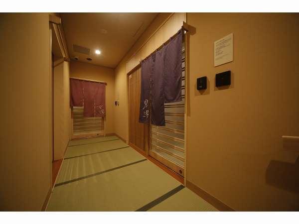 ■大浴場入り口は男女ともセキュリティがかかっており、安心してご利用頂けます■