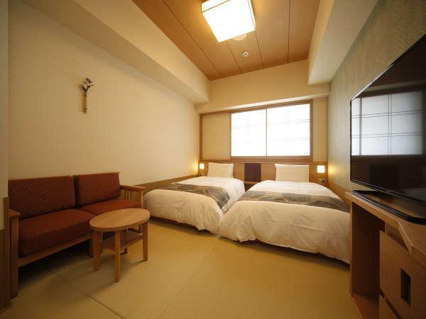 ■モデレートツイン・20㎡・サータ社製ベッド ■