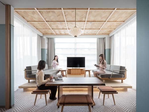 【ジュニアスイート】バリエーション豊富な部屋タイプで日常とは違うホテルライフを・・・