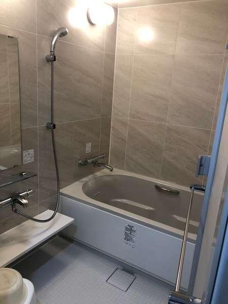 401号室の浴室・・・2019年3月リニューアル