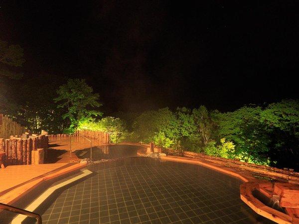 眺望の湯 夏夜