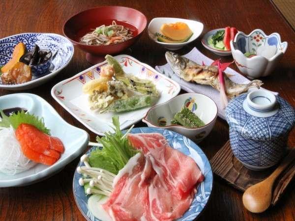 女将手作り奥飛騨郷土料理(一例)