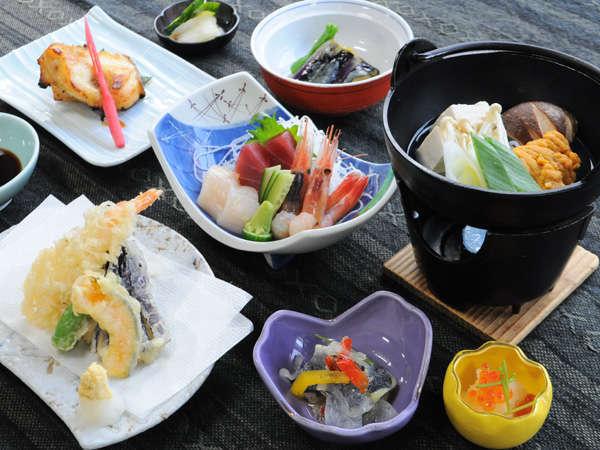 【ホテル神居岩】留萌ICより車で5分☆旬鮮魚介類を使った夕食と温泉が人気