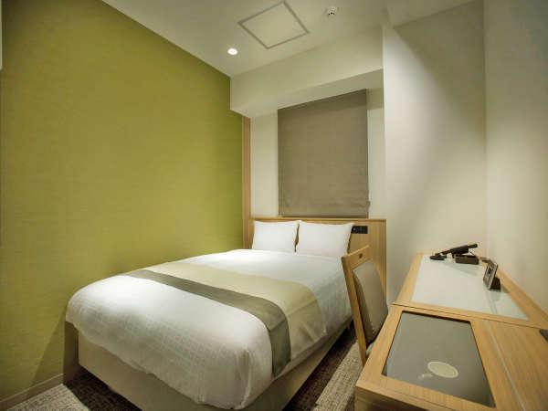 【禁煙】シングルルーム<13㎡/ベッド幅140cm>