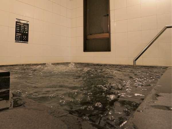 人工炭酸カルシウム温泉