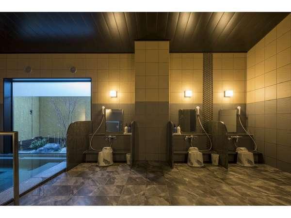 【女性大浴場】男性より狭さはありますが、ゆっくりくつろぐことが出来ます♪