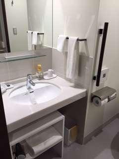 広々とした、お手洗いスペースを用意しております。