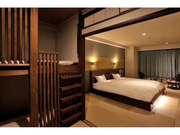 温泉付ファミリールーム:オーシャンビュー客室(デザインは部屋ごとに異なります)