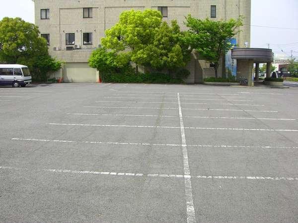 無料駐車場150台