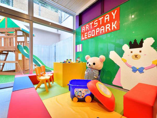 ◆お子様が安心して遊べる◆♪アートステイキッズスペース♪