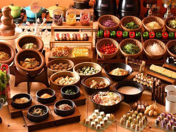 ◆アジアが見える◆♪6ッヶ国の朝食♪