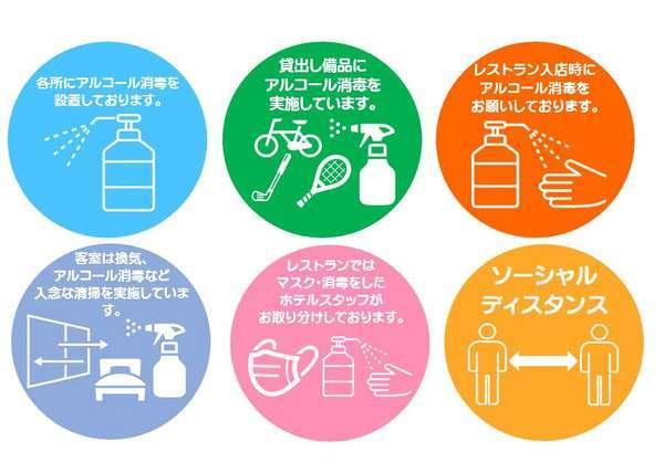 新型ウィルス感染防止対策