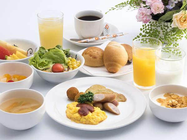 朝食ブッフェ(洋食盛り付け例)