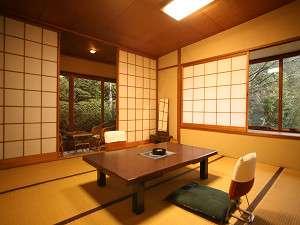 客室8畳間一例(式部の間)4名様までお入りいただけます