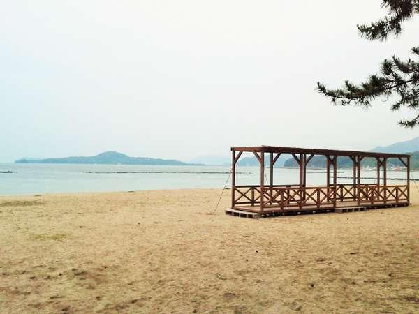 菊ヶ浜海水浴場まで徒歩15分程度