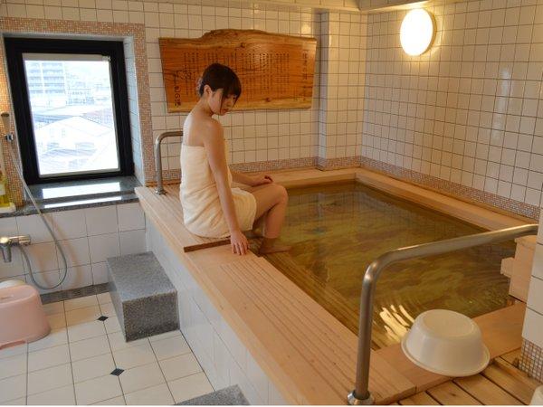 【木曽檜巴の湯】女湯