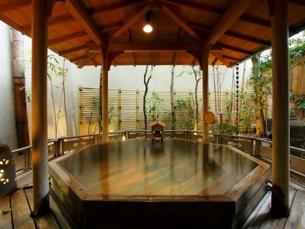 【露天風呂】九萬坊の湯