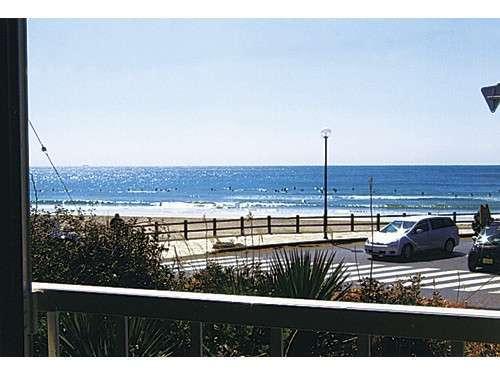 別館2Fからはおんじゅくビーチが一望できます。