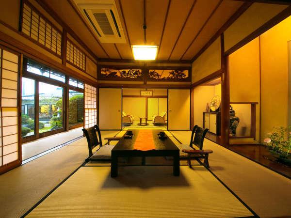 ◇和洋室-秀水の間-◇枯山水の庭園を眺む唯一のお部屋です。