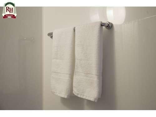 洗い立ての清潔なフェイスタオルをご用意