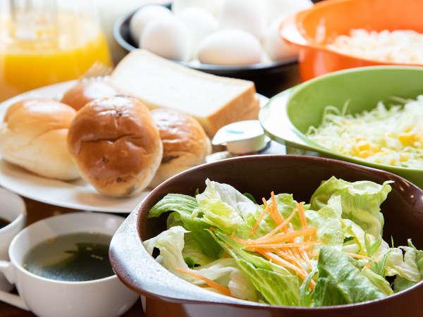 *【朝食】無料で好きな分だけお召し上がりいただけます