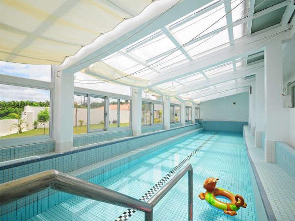 【室内プール】広ーいプールでおもいっきり遊べます☆有料・要予約