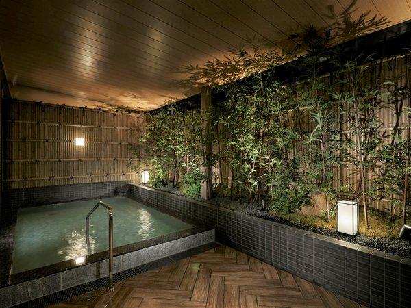 【大浴場】旅の一日を締めくくるのにふさわしい穏やかな至福の時間へと誘います
