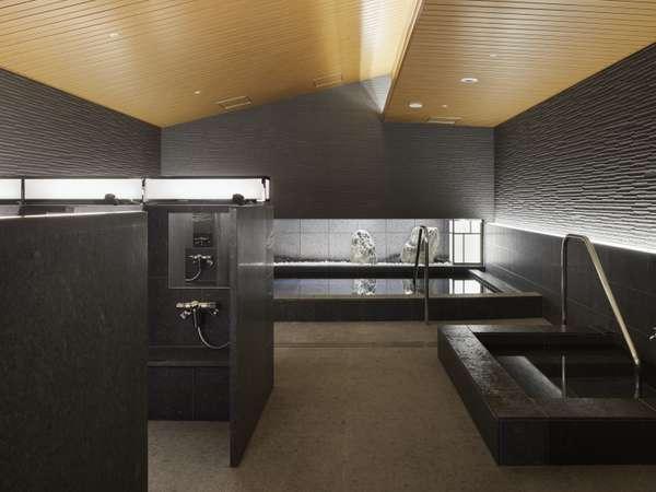 男性用大浴場には内湯の他にサウナ・水風呂をご用意。