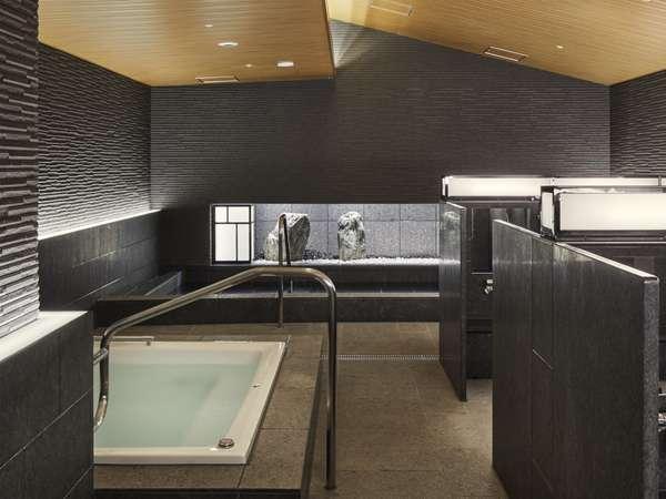 女性用大浴場には内湯の他にジェットバスをご用意。