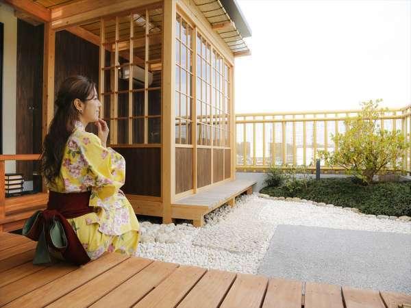 《限定1室》あなただけの日本庭園と古都の景色をお楽しみください