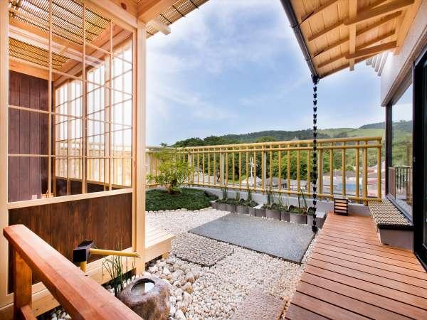 限定1室。特別室は専用庭があり景色もお楽しみ頂ける設え