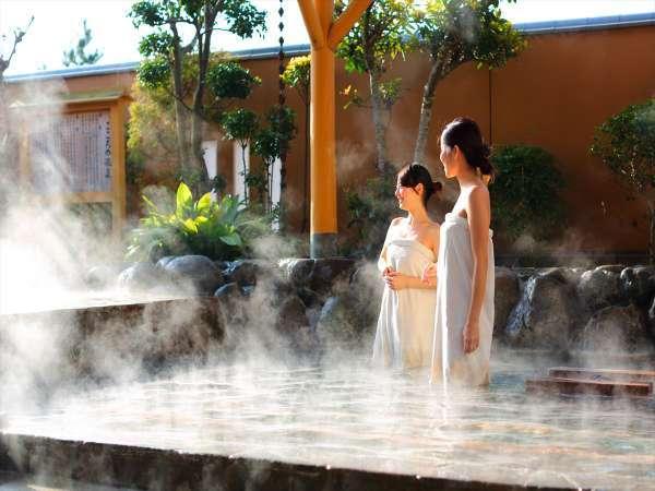 【こころの湯・大浴場】露天風呂