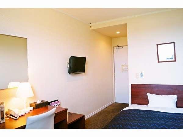 【シングルルーム】ビジネスや一人旅の方にピッタリのお部屋です/一例