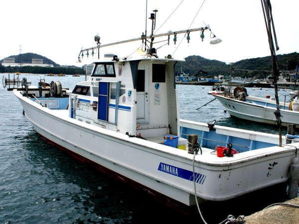 当館所有の釣船