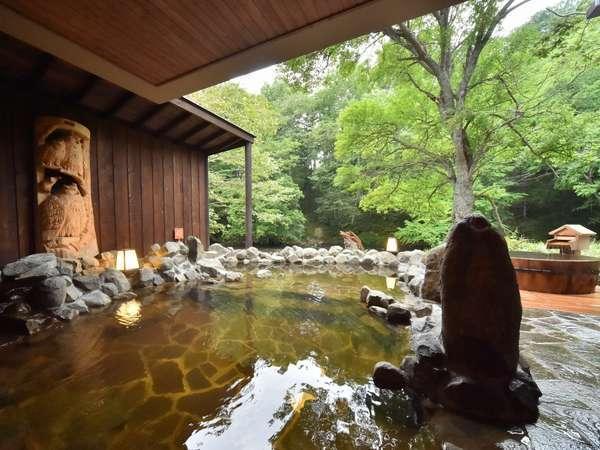 ◆露天風呂◆四季折々に変化してゆく自然をお愉しみください。