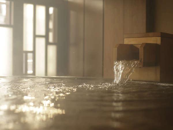 【温泉】当館の大浴場の泉質は「単純温泉」です。