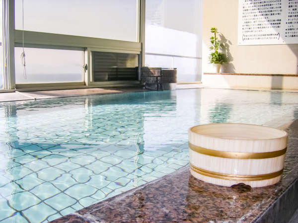 【大浴場 桜島】源泉100%かけ流しph9.8の高ph値温泉で美肌効果