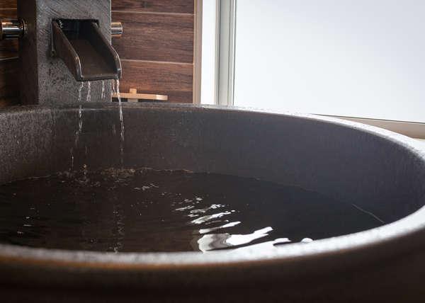 【半露天風呂付客室】源泉100%かけ流しアルカリ性単純硫黄泉(ph9.8)