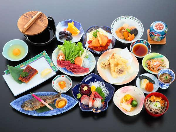 *【夕食(イメージ)】海山に恵まれた宮城県ならではの山海和会席。