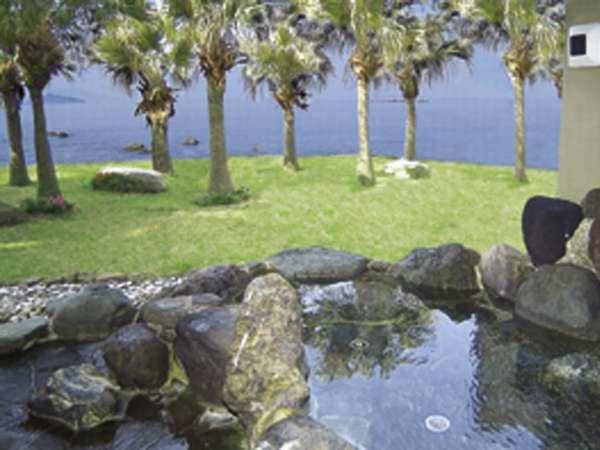 志布志湾を一望できるタラサの湯【海水露天岩風呂】