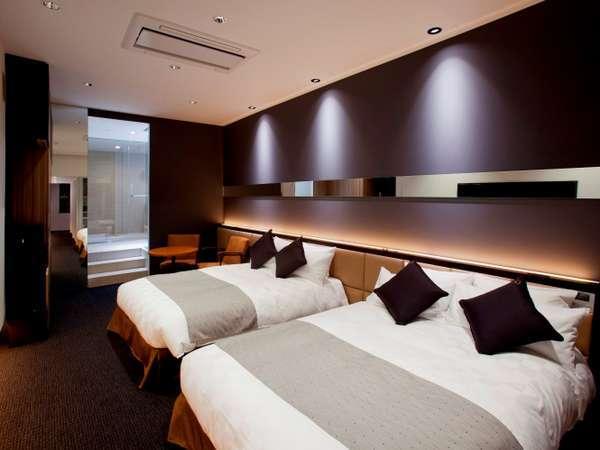アトリエスイート 64㎡ ベッドは最大で4台までアレンジ致します。