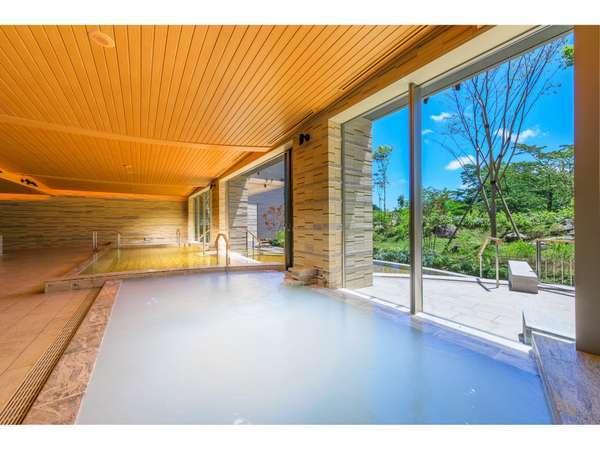 【棚湯】大浴場(庭園)