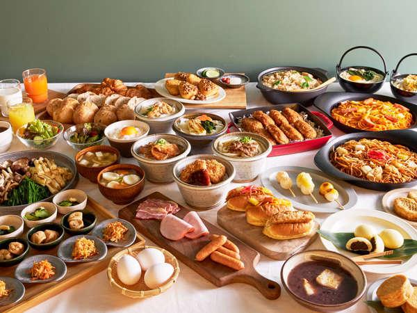 朝食ビュッフェ★埼玉の美味しいフードが集まるマーケットのような朝ごはん