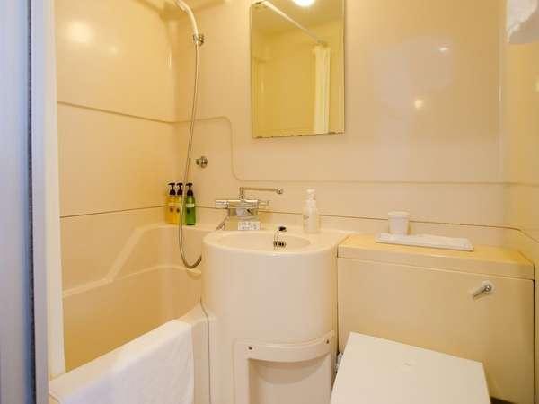 清潔感漂うバスルーム