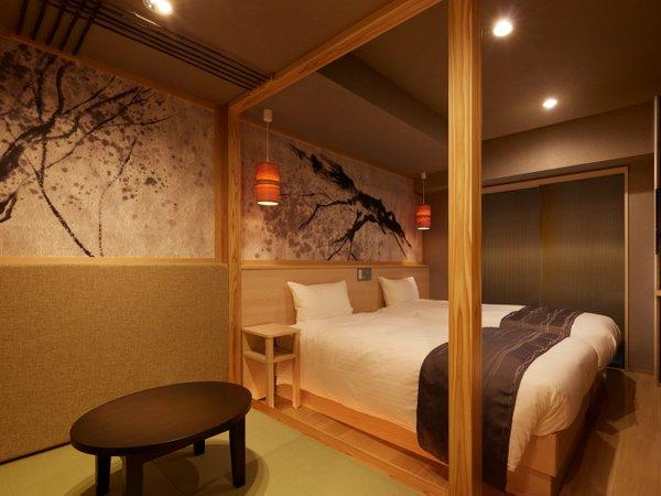 畳の小上がりがついたお部屋など、4タイプのツインルームでお迎えします