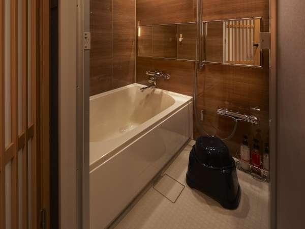 ※風呂ツインのみ※独立型のバスルーム。ご家族連れに大人気です♪