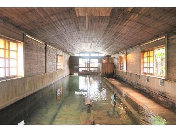 当館自慢!日本一の総檜大浴場 千人風呂